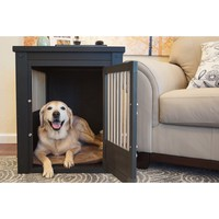 2-in-1 End Table and Pet Crate