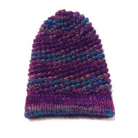 Colorful, Slouchy, Beanie, Purple Hat, Blue Hat, Turquoise Hat, Red Hat, Orange Hat, Green Hat, Burgundy Hat, Winter Hat, Knitted Hat, Warm