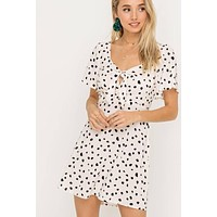 Shae Spotted Dress