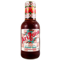 Arizona Peach Tea 20 Oz Glass Bottle Pack of 12