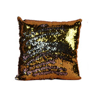 Mermaid Gold Pillow