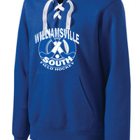 Williamsville South HS Mod. FH Sport-Tek® Lace Up Pullover Hooded Sweatshirt