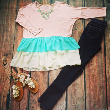 """""""Pastel Perfection"""" Top"""
