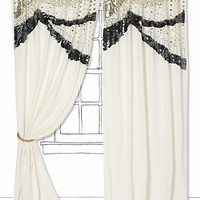 Sequined Scallops Curtain