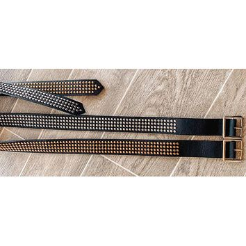 Stud Obsessed Belt