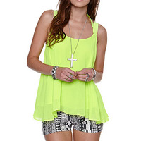 Rehab Highlighter Double Strap Tank at PacSun.com