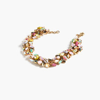 J.Crew Womens Gem Cluster Choker Necklace