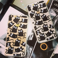 Creative Handmade 3D Cat iPhone Case Cover for 7 7 Plus Se 5S 6 6S Plus Best Gift