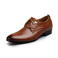 2014 Brand Name New Fashion Genuine Leather Men's Oxford Shoes For Men Low Top Causal Flats Oxfords Sneakers Men Dress Shoes