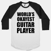 World's Okayest Guitar Player