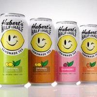 Hubert's Half & Half Lemonade Tea | 15.5 Fl Oz Cans | Pack of 8| (Green Tea)