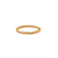 TWISTED KNUCKLE MIDI RING