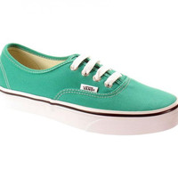 Vans Authentic-Emerald/Tru Wht