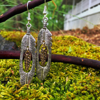 Drey Feather Earrings