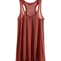 Long Tank Top - from H&M