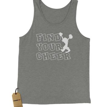 Find Your Cheer Jersey Tank Top for Men