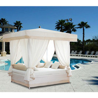 Luxury Outdoor Sun Lounge Bed | Outdoor Living | SkyMall