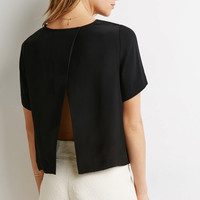 Split-Back Blouse