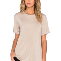 TY-LR The Base Tee in Oatmeal
