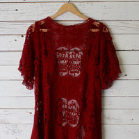 Betsy Lace Cardigan
