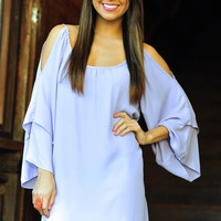 RESTOCK Can't Hold Me Back Dress: Purple | Hope's