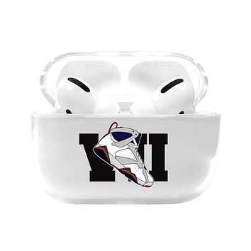 Large Jordan 7 Retro Shoe Emoji Airpods Pro Case