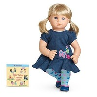 NEW American Girl BITTY BABY Twin DOLL Blonde Hair & Blue Eyes w/ Outfit & Shoes