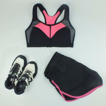 B.BANG Women Sport Yoga Sets For Gym Running Workout Sportswear Girl Lady Fitness Clothing for Woman