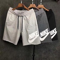NIKE Print Side Men Sports Running Shorts Three Color