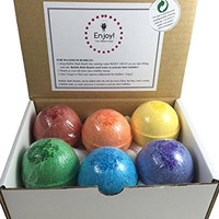 Two Sisters Spa Kids BUBBLE Bath Bombs with Surprises Inside(Gender Neutral) - Set of 6