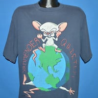 90s Pinky and the Brain Animaniacs t-shirt Extra Large