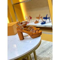 lv louis vuitton women casual shoes boots fashionable casual leather women heels sandal shoes 31