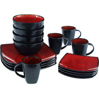Walmart: Gibson Home Soho Lounge Square 16-Piece Dinnerware Set