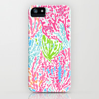 Lets Cha-Cha (Lilly Pulitzer style) iPhone & iPod Case by uramarinka