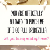 Funny Groomsman Card-Bridesmaid Asking Card-Funny Bridesmaid Cards-Groomsmen Card-Will You Be My Groomsman