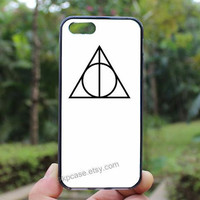 Harry Potter,Deathly Hallows,iphone 4 case,iPhone4s case, iphone 5 case,iphone 5c case,Gift,Personalized,water proof