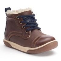 Jumping Beans Toddler Boys' Ankle Boots (Brown)