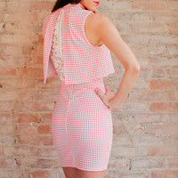 Bridgette Gingham Dress
