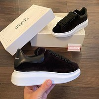 Alexander McQueen Casual Little white shoes-58