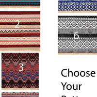 Custom Palazzo Pants Choose Your Pattern Made To Order Fabric.com Knit Jersey Stretch Comfy Lightweight