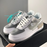 Nike Air Force 1 Low SHADOW Macaron new color low-top all-match casual sports shoes