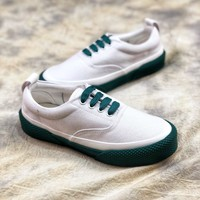 18ss Céline Celine 180 Lace Up Canvas Sneakers 2 - Sale