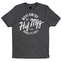 HUF - ANTIQUE TEE // CHARCOAL
