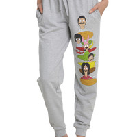 Bob's Burgers Belcher Family Burger Girls Jogger Pants