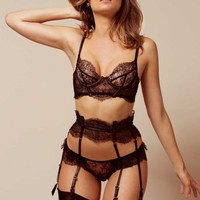 Adara Suspender Black