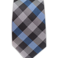 Gingham Fusion  - Blue