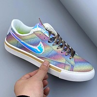 Nike Wmns Blazer Low Women's Wild Flat Shoes