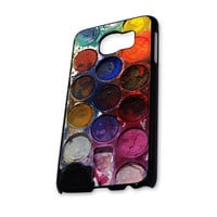 Water color paint set Samsung Galaxy S6 Case