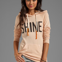 SUNDRY Shine Pullover Hoodie in Nude from REVOLVEclothing.com