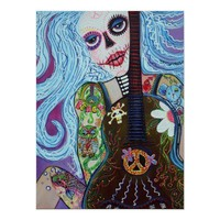 Flower Child's Song Poster from Zazzle.com